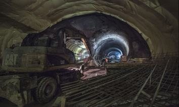 Deep underneath Grand Central Terminal in New York City, a new train station for the Long Island Rail Road is taking shape.