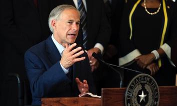 Texas Gov. Greg Abbott.