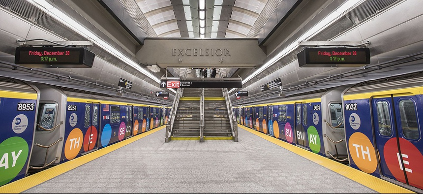 The 86th Street Station of the Second Avenue Subway in New York City.