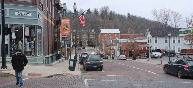 North Court Street in Athens, Ohio