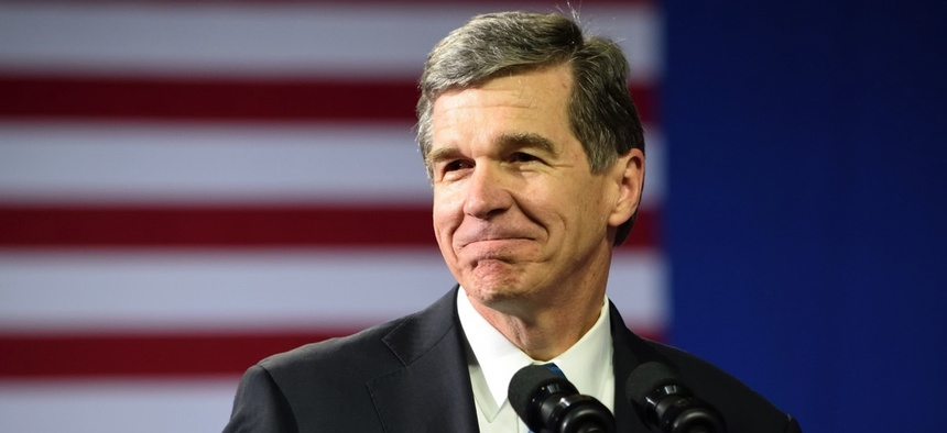North Carolina Gov. Roy Cooper.