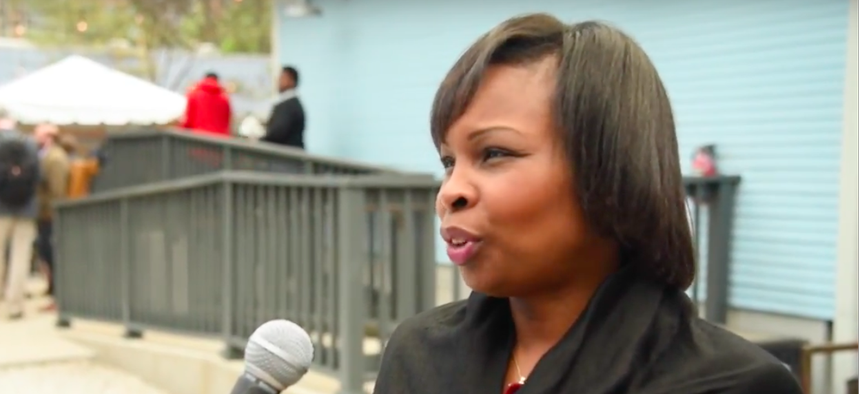 San Antonio Mayor Ivy Taylor at SXSW in Austin.