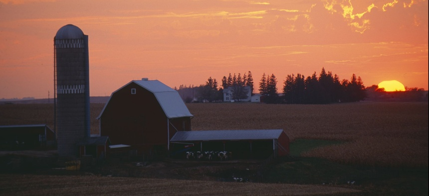 A farm in Rolling Hills, Iowa