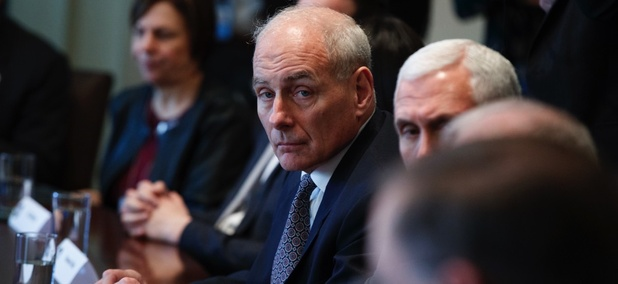 Homeland Security Secretary John Kelly.