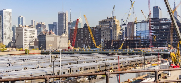 Hudson Yards on the west side of Manhattan
