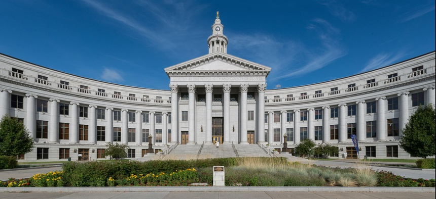 The City-County Building in Denver