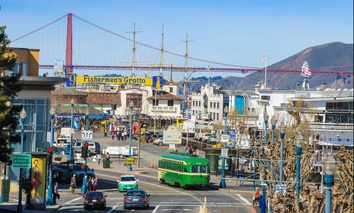 Fishermens Wharf in San Francisco