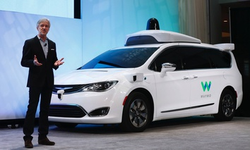 John Krafcik, CEO of Waymo.