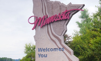 Welcome to Minnesota.