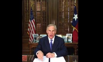 "Texas Gov. Greg Abbott talks about a so-called ""sanctuary cities"" ban in Austin."