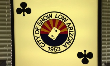 The origin story of Show Low, Arizona, involves a card game from the 1870s.