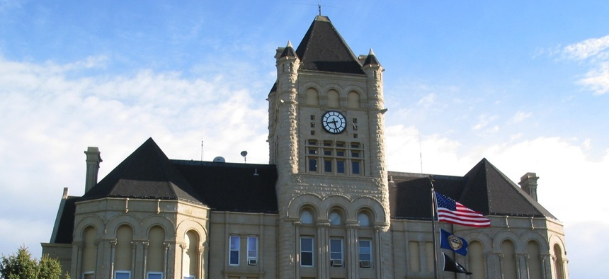 The Gage County, Nebraska courthouse.