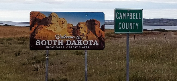 Welcome to South Dakota!