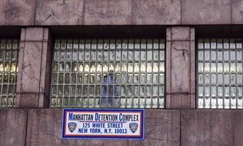 The Manhattan Detention Complex.