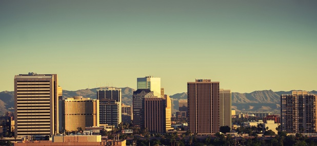 "Phoenix, Arizona. Arizona passed a law in 2016 that is often referred to as the ""mother of all local preemption bills."""