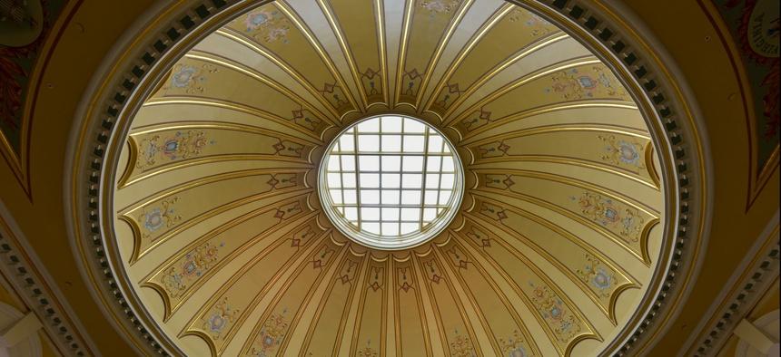The Rotunda in the Virginia State Capitol in Richmond