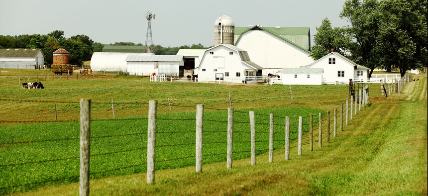 A farm in northern Indiana