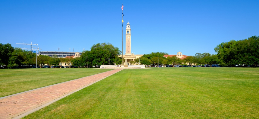 Louisiana State University in Baton Rouge