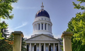 The Maine State House in Augusta.