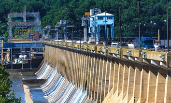 The Conowingo Dam in Maryland