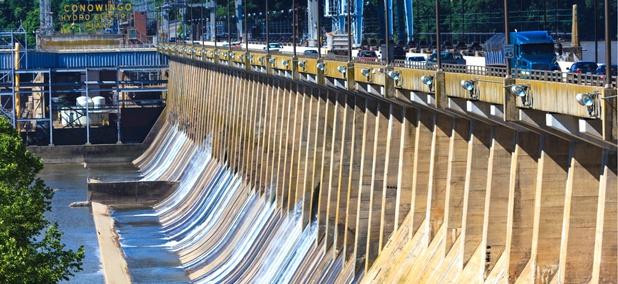 The Conowingo Dam in Maryland