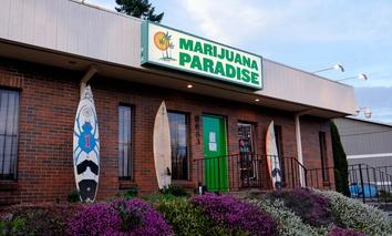 A marijuana dispensary in Portland, Oregon.