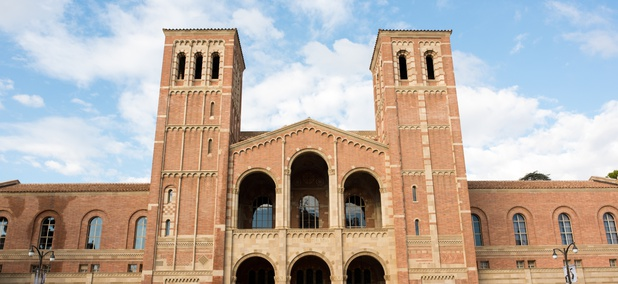 Royce Hall at the University of California at Los Angeles