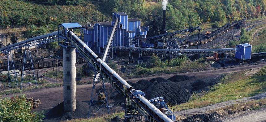 A coal mine in West Virginia