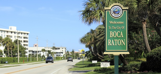 Welcome to Boca Raton, Florida
