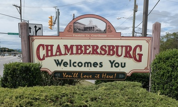 Welcome to Chambersburg, Pennsylvania!