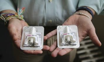 Narcan is an overdose-reversing nasal spray drug.