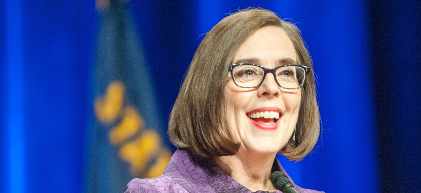 Oregon Gov. Kate Brown