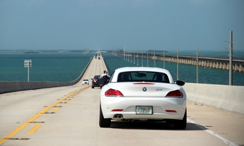 The U.S. 1 Overseas Highway provides the only evacuation route out of the Florida Keys.
