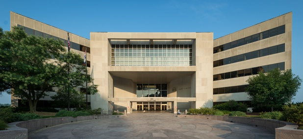 The Harry S. Truman State Office Building in Jefferson City, Missouri