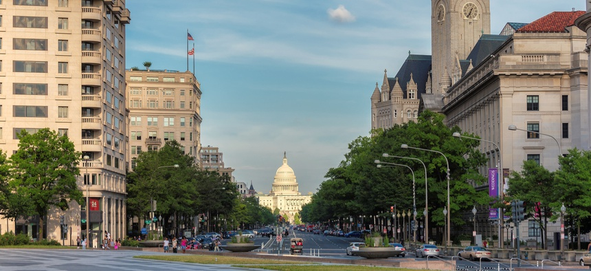 Pennsylvania Avenue in Washington, D.C.