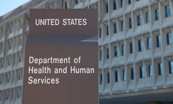 The headquarters for the U.S. Department of Health and Human Services.