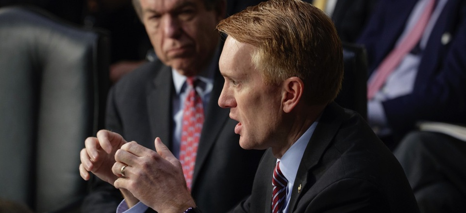 "Senator James Lankford of Oklahoma is pushing for a ""backstop"" in the GOP tax-cut bill."