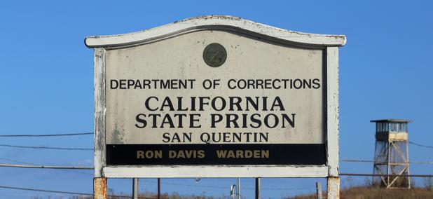 San Quentin State Prison near San Francisco