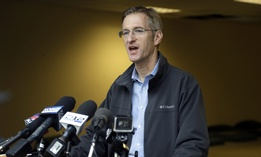 Portland, Oregon Mayor Ted Wheeler
