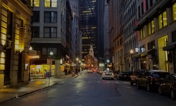 State Street in downtown Boston