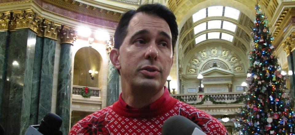 Wisconsin Gov. Scott Walker.