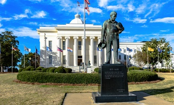 The Alabama State Capitol in Montgomery.