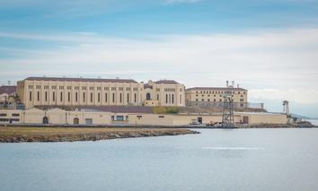 San Quentin State Prison in San Quentin, Ca.