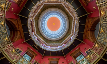 The Rotunda of the New Jersey State House in Trenton.
