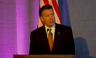 Nevada Gov. Brian Sandoval speaks Wednesday during the National Governors Association Transportation Innovation Summit in Las Vegas.