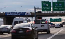 I-95 in Virginia