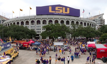Tigers Stadium at LSU