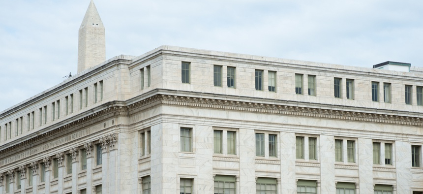 The headquarters of the Agriculture Department in Washington, D.C.
