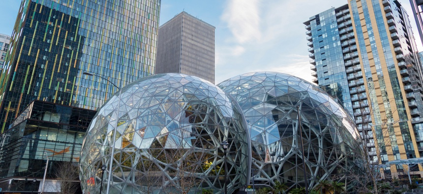 The Amazon Spheres in Seattle