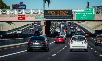Interstate 17 in Phoenix